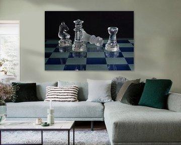Schach-Matte (2x) von John Driessen