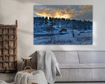 Norwegen, Winter von Michael Schreier