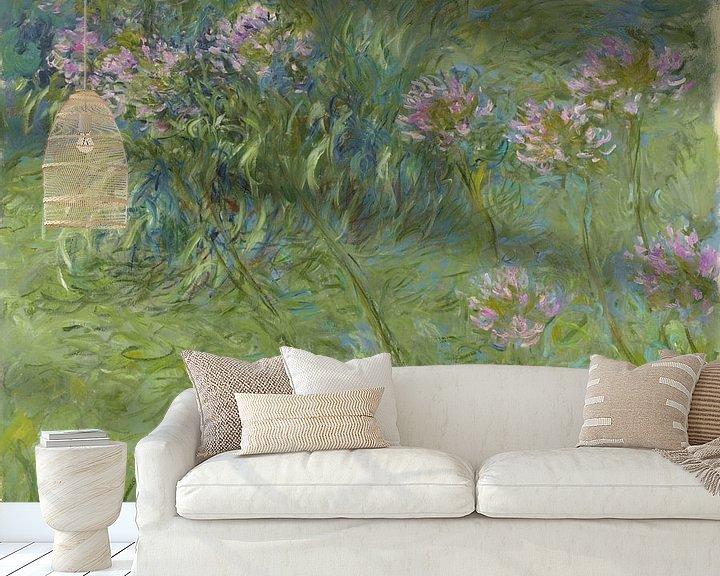 Beispiel fototapete: Afrikanische Lilie, Claude Monet