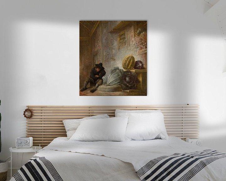 Beispiel: Boy Sleeping in a Barn, François Ryckhals