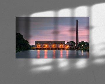 ir D.F. Woudagemaal. Lemmer, Friesland, Netherlands van Henk Meijer Photography