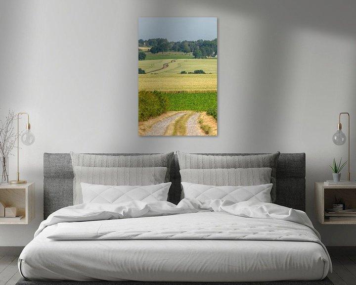 Impression: Typisch Zuid-Limburgs landschap in de buurt van Simpelveld sur John Kreukniet
