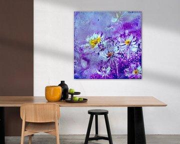 Abstrakte Blumen II von Christine Nöhmeier