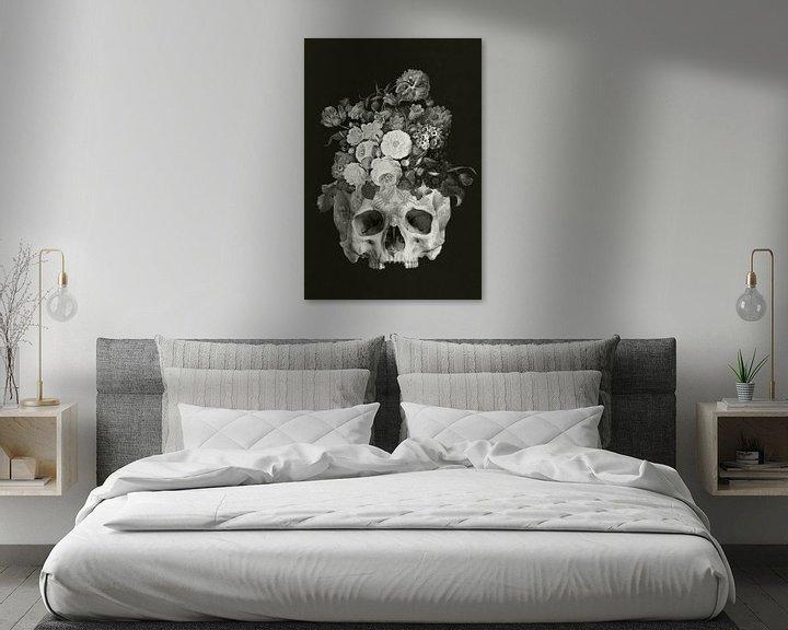Beispiel: Skullflowers von Marja van den Hurk
