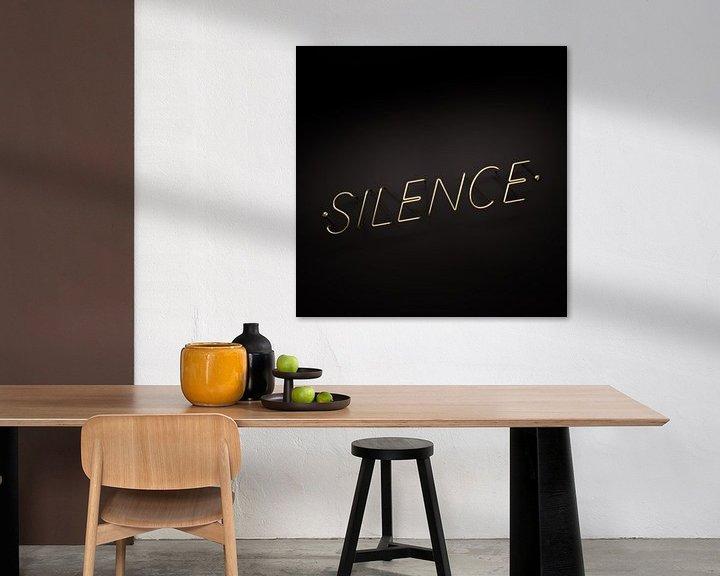 Sfeerimpressie: Silence is Golden van Jörg Hausmann