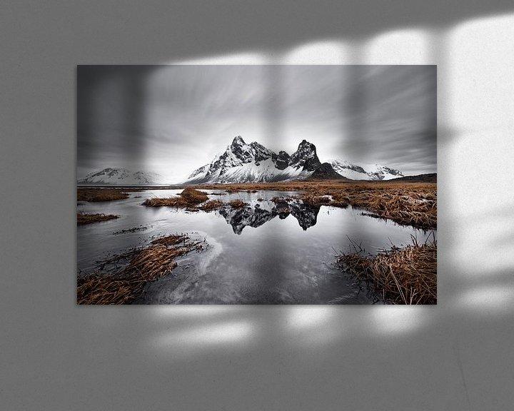 Beispiel: Bergkette mit Spiegelung von Ralf Lehmann