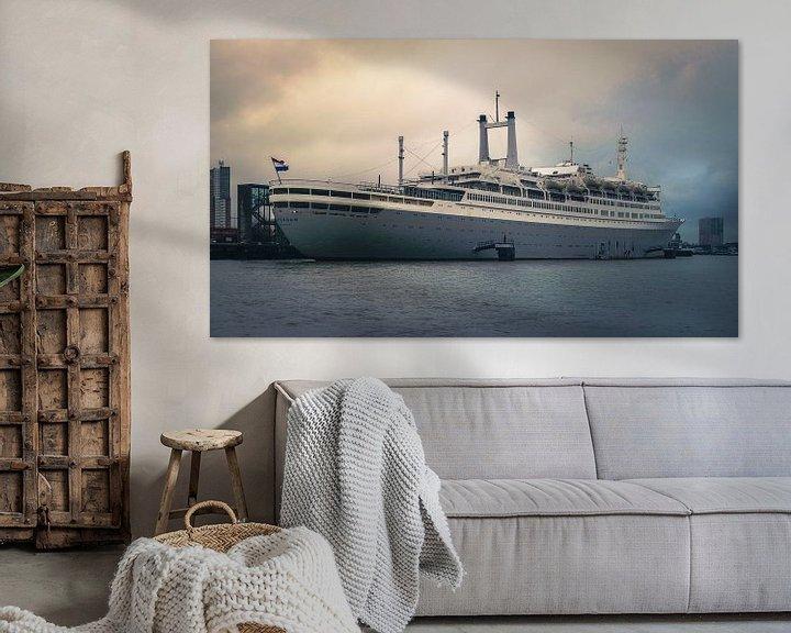 Beispiel: SS Rotterdam von Paul Poot