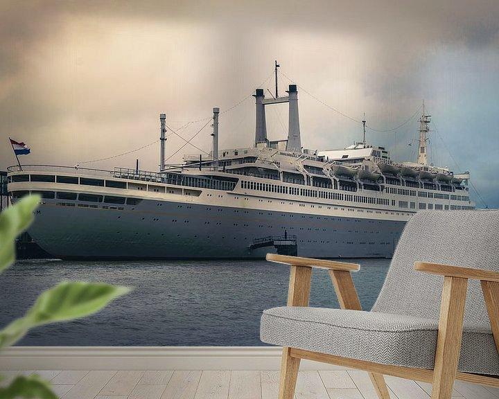 Beispiel fototapete: SS Rotterdam von Paul Poot