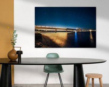 Seebrücke van Mike Ahrens