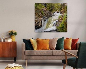 Waterval,  Alaska van Rietje Bulthuis