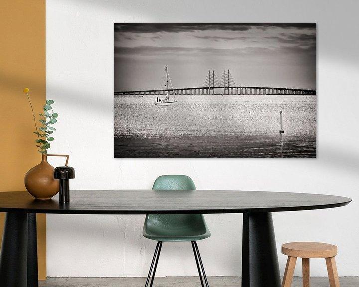 Sfeerimpressie: Black and White Photography: Øresund Bridge van Alexander Voss