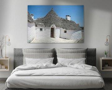 Maisons blanches à Alberobello en Italie