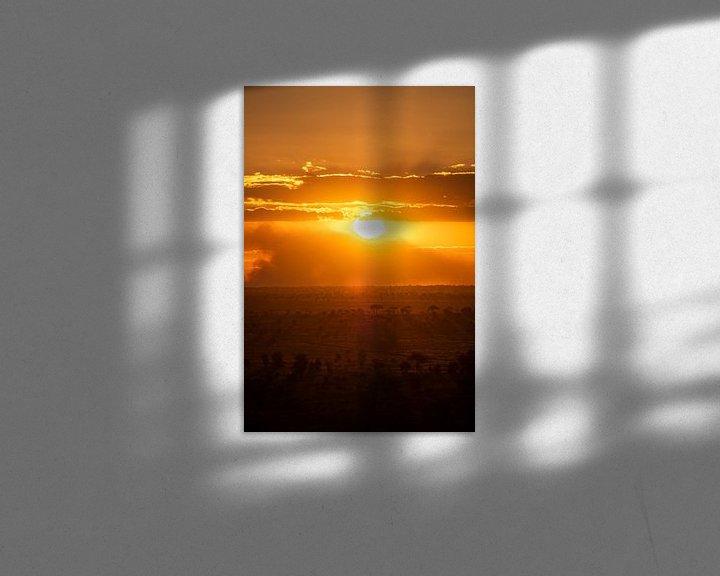 Impression: Zonsondergang in Kenia 2 sur Andy Troy