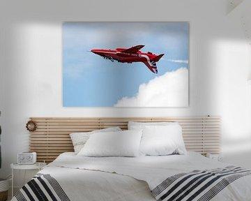 Solo van de Red Arrows onderste boven van Wim Stolwerk