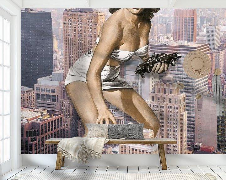 Sfeerimpressie behang: Oh SNAP! van Marja van den Hurk