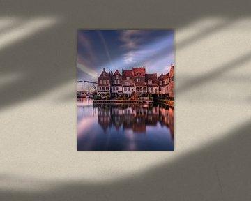 A Dutch harbour sur Niels Tichelaar