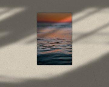 Zonsondergang zee Domburg van Andy Troy