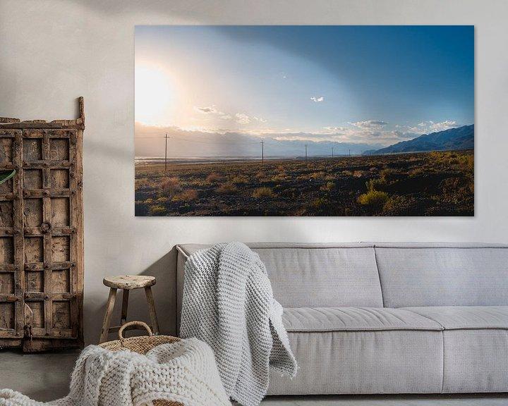 Impression: Sierra Nevada Californie sur Andy Troy