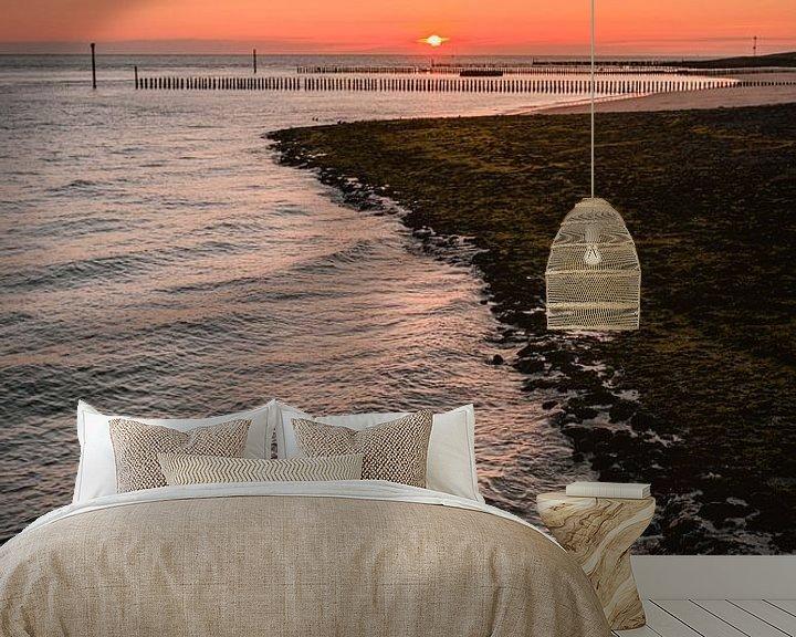Impression: Dijk Westkapelle zonsondergang sur Andy Troy