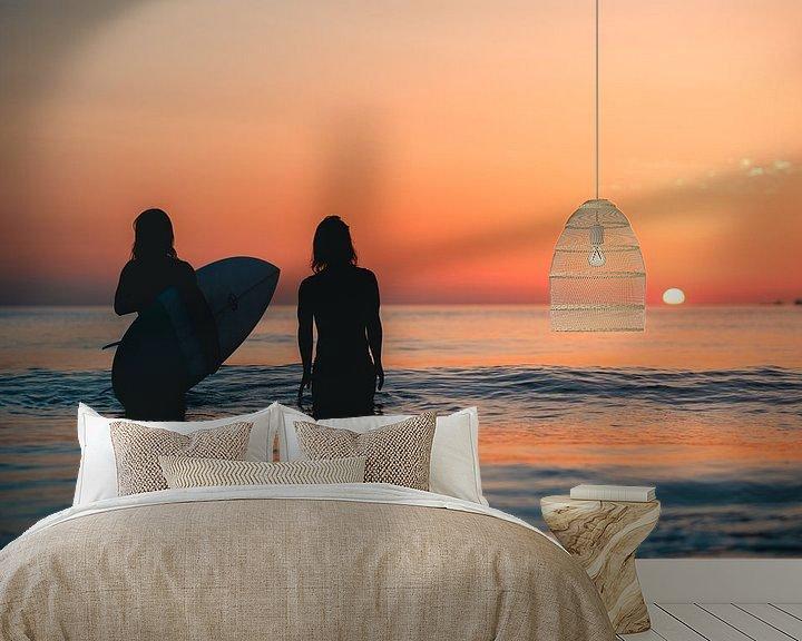 Impression: Surfen Domburg zonsondergang 2 sur Andy Troy