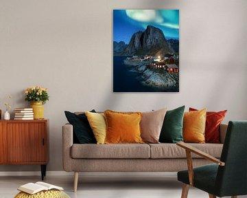 Aurora Borealis van Niels Tichelaar