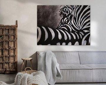 Zebra von Ineke de Rijk