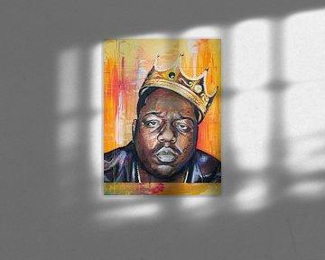 the Notorious B.I.G. malerei von Jos Hoppenbrouwers