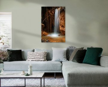 The Iron Waterfall van Cornelis (Cees) Cornelissen