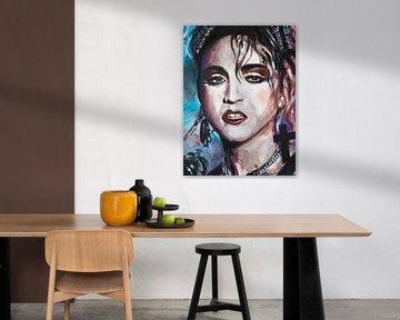 Madonna malerei von Jos Hoppenbrouwers