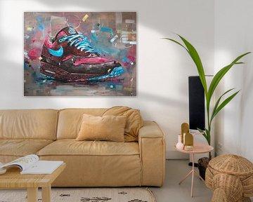 Nike Air Max 1 x Parra Amsterdam malerei von Jos Hoppenbrouwers