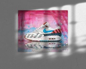 Nike Air Max 1 x Parra malerei von Jos Hoppenbrouwers