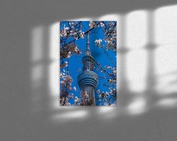Tokyo Sky Tree van Schram Fotografie