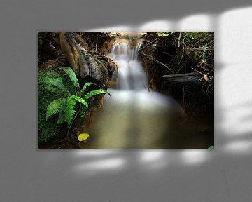 Small Waterfall van Cornelis (Cees) Cornelissen