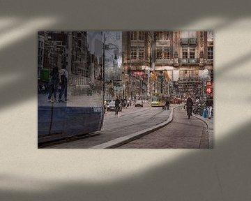 Amsterdamer Straßenleben von Dennisart Fotografie