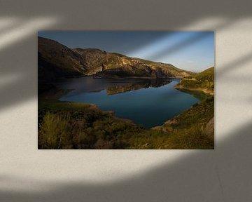 Mountain Reflections van Cornelis (Cees) Cornelissen