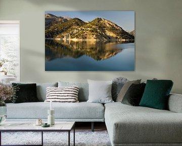 Mountain Reflection van Cornelis (Cees) Cornelissen