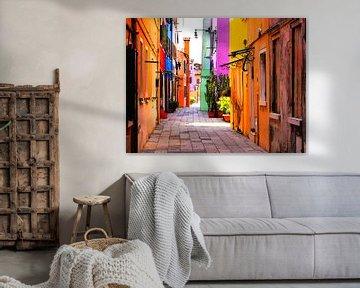 Aquarel Pencil - Cities of Colors - Burano von Doesburg Design
