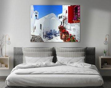 Aquarel Pencil - Cities of Colors - Amorgos von Doesburg Design
