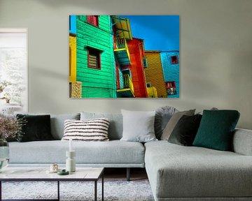 Aquarel Pencil - Cities of Colors - Buenos Aires von Doesburg Design