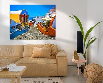 Aquarel Pencil - Cities of Colors - Oia von Doesburg Design
