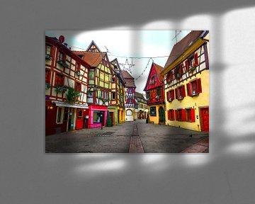 Aquarel Pencil - Cities of Colors - Colmar von Doesburg Design