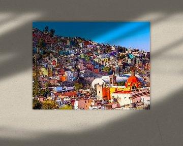 Aquarel Pencil - Cities of Colors - Guanajuato von Doesburg Design
