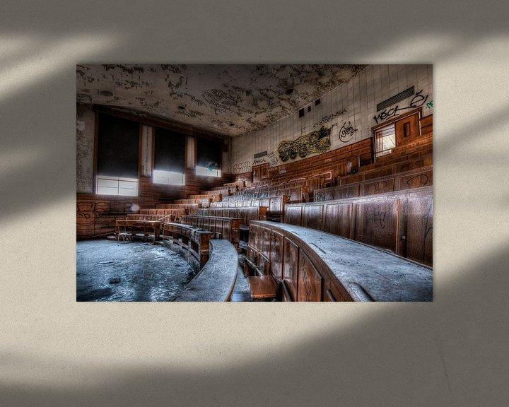 Beispiel: Hörsaal der Universität Val Benoit, Lüttich von Martijn Mureau