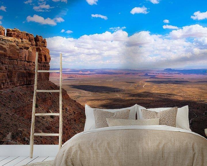 Beispiel fototapete: Monument Valley, United States von Colin Bax