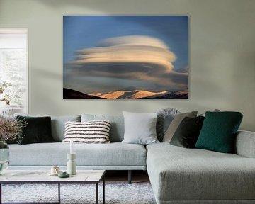 The UFO Cloud von Cornelis (Cees) Cornelissen