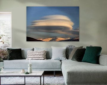 The UFO Cloud van Cornelis (Cees) Cornelissen