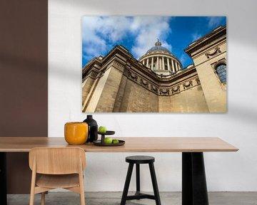 Blick auf das Pantheon in Paris, Frankreich von Rico Ködder