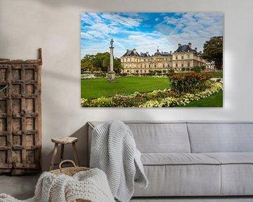 Blick auf den Luxemburggarten in Paris, Frankreich von Rico Ködder