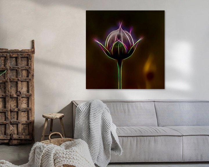 Sfeerimpressie: bloemknop van Dick Jeukens
