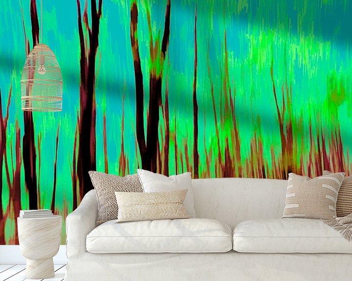 Beispiel fototapete: Der Wald von Dick Jeukens